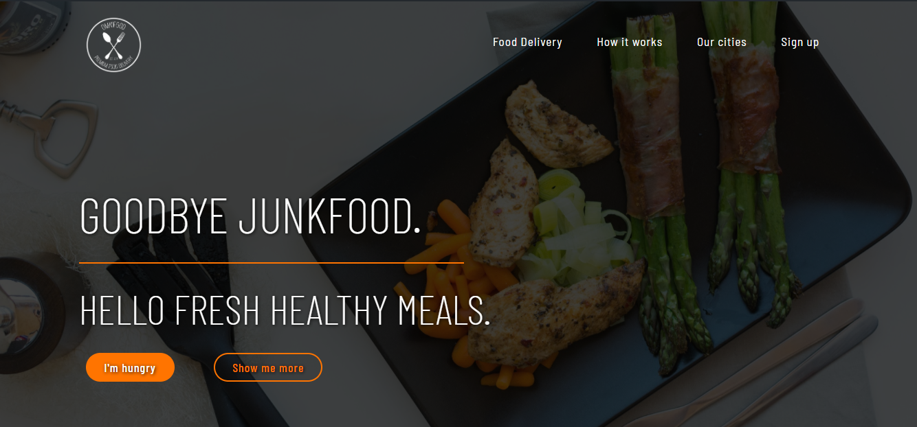 A design by Evin Leclerc-Omnifoods Food delivery